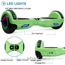 2020 Hoverboard 6.5 Electric Scooter LED Wheels Lights Self Balance Scooter UL