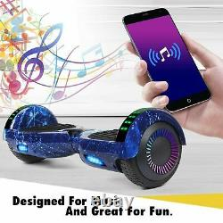 2020 NEW 6.5 Hoover boards Chrome Hover board Electric Self Balancing Scooter UK