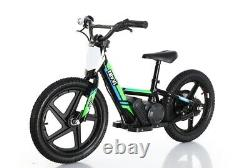 2021 REVVI 16 Inch Electric Balance Bike 24V Lithium Battery Power Offroad Bike