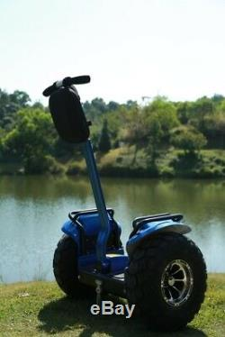 2400With72V Two Wheel 19in. Off Road Outdoor Self Balance Electric Vehicle
