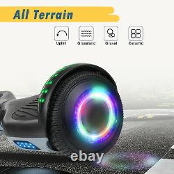 2 Wheel Bluetooth Hoverboard Electric Self Balancing Scooter LED Light 6.5 UK