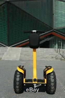 4000With84V Two Wheel 19in. Off Road Outdoor Self Balance Electric Vehicle