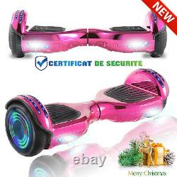 6.5Inch Hoverboard Electric Scooter Bluetooth Self Balancing Board RemoteControl