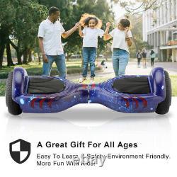 6.5Self Balancing Electric Scooter HOVER BOARD LED+BLUETOOTH+BAG+BRAND Kids UK