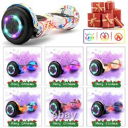6.5 Bluetooth Hover Board Electric LED Self Balancing Scooter with Bag Remote Key