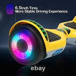 6.5 Electric Balancing Scooter Bluetooth Speaker LED