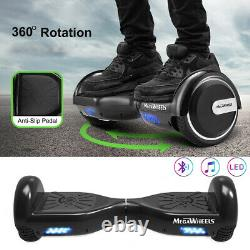 6.5 Electric Hoverboard Bluetooth Speaker LED Self Balancing Scooter UK STOCK
