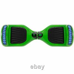 6.5'' Green Electric Scooter Hoverboard Self-Balancing Skateboard 2 Wheels