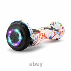 6.5 Hover Board Bluetooth Electric LED Self-Balancing Scooter Kids Xmas Gift UK
