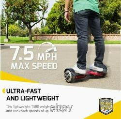 6.5 Hoverboar Electric Balancing Scooter Bluetooth LED Wheel UL2272 Certified