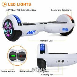 6.5 Hoverboard Bluetooth Self Balance Electric Scooter LED Smart Wheel Board UK