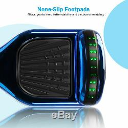 6.5 Hoverboard Electric Scooters Bluetooth Self Balance Board LED Wheels Gift