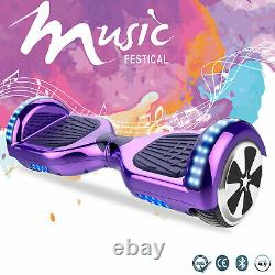 6.5 Inch Hoverboard Electric Scooter Self Balancing Board Bluetooth Speaker