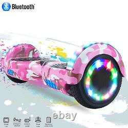 6.5 Inch Hoverboard Self Balancing Board Electric Scooter with Key and Bag