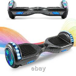 6.5 Inch Self Balancing Board Hoverboard Electric Scooter LED Light Bluetooth