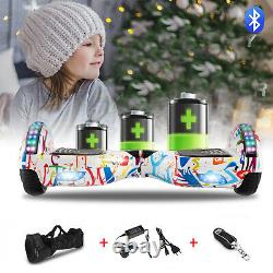 6.5 Inch Self Balancing Board Hoverboard Electric Scooter with Key and Bag
