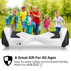 6.5''Kids Gift Hover board Self-Balancing Electric Scooter 12KM/h Balance Board