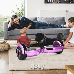 6.5 Self Balancing Board Bundle Combo Electric Scooter Board & Hoverkart with Bag