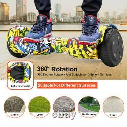 6.5 Self Balancing Electric Scooter Bluetooth Hover Board + Remote Key +Bag PRO