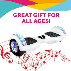 6.5 Self Balancing Electric Scooter HOVERBOARD LED+BLUETOOTH+BAG REMOTE KEY