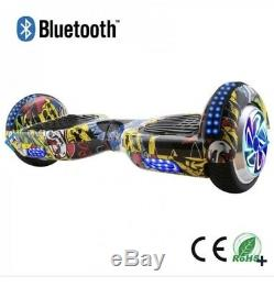 6.5 Self Balancing Electric Scooter +LED Flash Wheels Bluetooth Hover board Bag