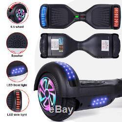 6.5 Self Balancing Electric Scooter with LED Flash Wheels Bluetooth Hover board