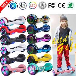 6.5 Self Balancing Scooter Electric Balance 2 wheels LED E-Scooters Xmas Gift