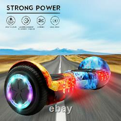 6.5 Self Balancing Scooter Electric Bluetooth Hover Board With Bag Remote Key