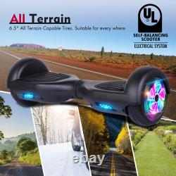 6.5 Two Wheels LED Lights Hoverboard Electric Self Balance Scooters Hover Board