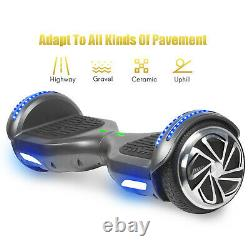 6.5'' UL Electric Hoverboard Self Balancing Scooters Bluetooth LED Hover Board