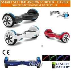 6.5 hoverboard, self balance scooter electric scooter e-skateboard Solid color