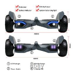 8.5'' Hoverboard Bluetooth Hummer All Terrain Self-balancing Electric Scooter UL