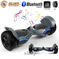 8.5' Hummer All Terrain Bluetooth Hoverboard Electric Self Balance Scooter Board