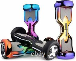 8 Electric Hoverboard Bluetooth Speaker GLOW Self Balancing Scooter UL NO Bag