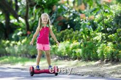 8'' Hoverboard Segway Self Balancing Board Electric Scooter Bluetooth Pink