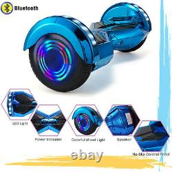 8 Inch Electric Scooter Self Balancing Board Hoverboard Bluetooth