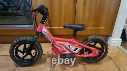 AMPED A10 Electric Battery Powered Kids/Childs Balance/Motorbike in PINK