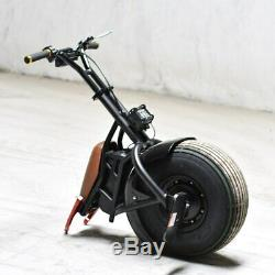 Adult One Wheel Smart Self Balance Unicycle Electric Motorcycle Scooter 60V