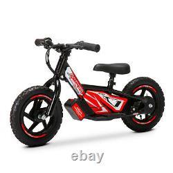 Amped A10 Electric Balance Bike Black Christmas Present
