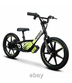 Amped A16 16 Kids Electric Balance Bike Black/Hi-Viz Yellow