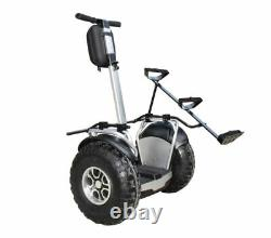 Angelol 2400with60v Off Road Electric Self Balance Golf Cart Vehicle GPS & APP