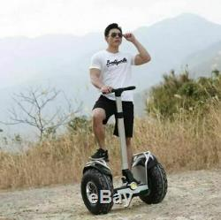 Angelol 2400with60v Two Wheel 19in Off Road Electric Self Balance Vehicle GPS APP