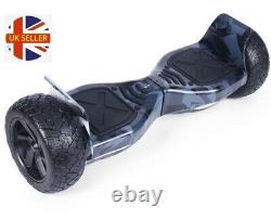 Black Camo Vortex 8.5 Hummer 700w Hoverboard Electric Balance Board Segway
