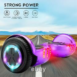 Black Friday Self Balancing Electric Scooter Bluetooth Balance Board LEDs WithBag