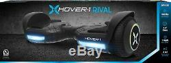 Black Hoverboard Rival Electric Scooter Self Balance Board LED Lights Hover UK