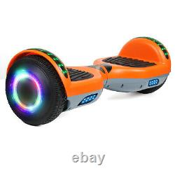 Bluetooth Hoverboard Electric Scooters LED 2 Wheels Balance Board 6.5 Inch 2021