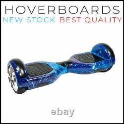 Bluetooth LED 6.5 Swegway Hoverboard Balancing Electric Scooter BLUE GALAXY