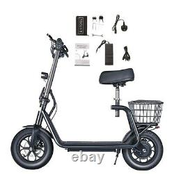 Bogist M5 Pro Rear Drive 500W Self Balancing Folding Electric Scooter with Seat
