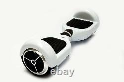 Classic 6.5 Electric Self Balance Hover board Scooter Bluetooth White