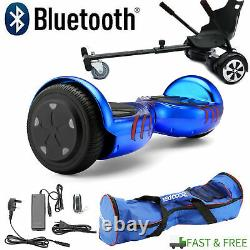 Combo Hover board Electric Scooters Bluetooth Self Balance RGB LED 2Wheels MAX3